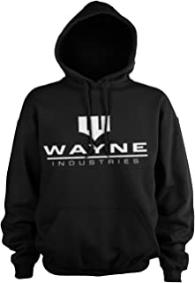 Batman Officially Licensed Wayne Industries Logo Hoodie