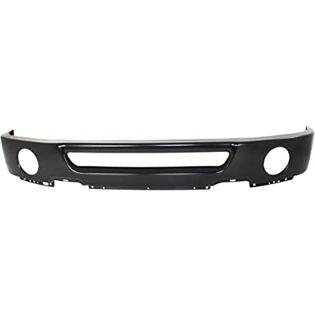 NEW FRONT LOWER BUMPER FACE BAR CHROME FITS 2004-2005 FORD F-150 FO1002388