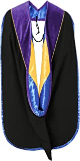GraduationMall Graduation Deluxe Academic Doctoral Hood