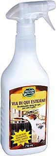 Mondo Verde REP02EP Repelente Perros y Gatos líquido de 750 ml, Blanco, 6x3x28 cm