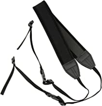 JJC 4.4ft Adjustable Neoprene Shoulder Neck Strap w/Quick Release Buckle Clip for Camera Nikon D850 D810 D800 D750 D610 D500 Df D7500 D7200 D7100 D5600 D5500 D5300 D5200 D3400 D3300 P900s P610 B700
