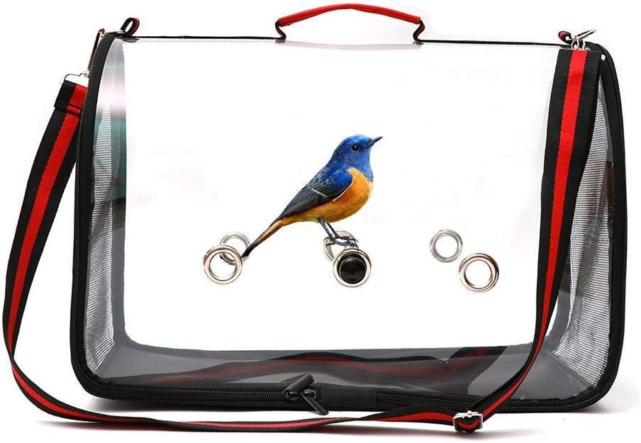 Lightweight Bird Parrot Carriers Transparent Breathable Dog ...