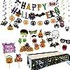 ハロウィン飾り付け セット 装飾 ガーランド 壁 ハロウィン キャラクターハロウィングッズ パーティー ...