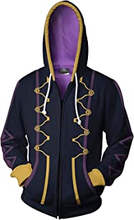 Fire Emblem Awakening Heroes Robin Daraen Hoodie Hooded Jacket Sweatshirt Costume Coat