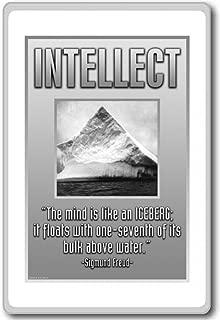 The Mind Is Like An Iceberg... - Sigmund Freud - motivational inspirational quotes fridge magnet