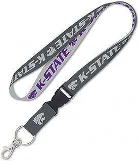 Kansas State University KSU Wildcats Premium Lanyard Charcoal Edition K-State