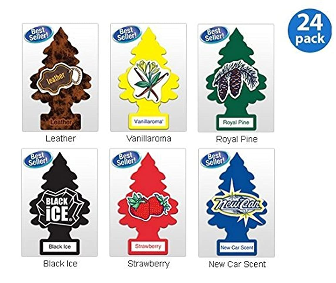 Little Trees? Assorted Air Freshener Classic Scents (24 Pack)
