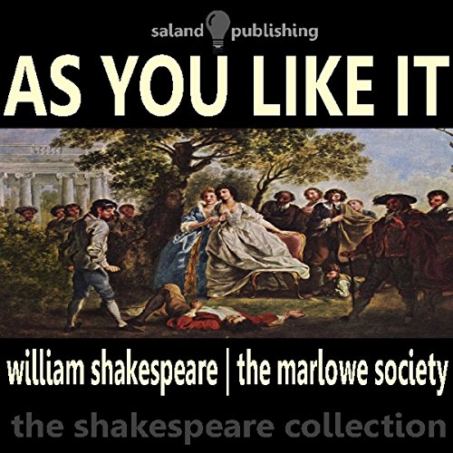 As You Like It audiobook cover art