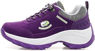 女性のハイキングシューズ、屋外防水、スニーカー、新しい韓国の通気性の靴、クライミングマウンテンシューズ、ランニングシューズ、厚手のウォーキングシューズ (色 : C, サイズ : 39)