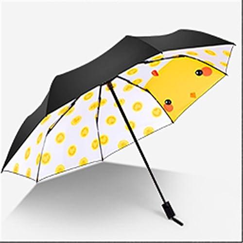 YFF@ILU Petit cadeau d'amoureux-UV parapluie noir deux baromètre Flandre, hommes et femmes C parapluie