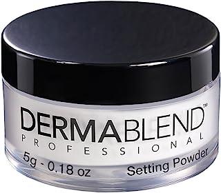 Dermablend Loose Setting Powder, Translucent Face Powder Makeup & Finishing Powder, Mattifying Finish and Shine Control , Travel Size .18oz.
