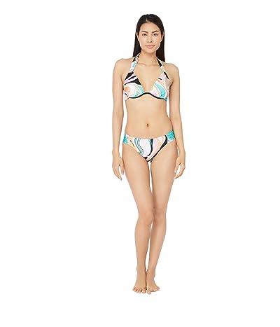 Trina Turk Nazare Underwire Halter Bra Bikini Swimsuit Top (Multi) Women