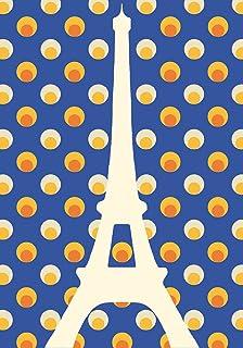 Alibabette Editions Paris Postcard 10 Pack Eiffel Planets (ACP020)