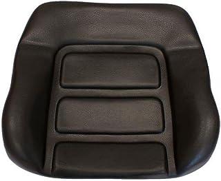 Profistop - Cuscino per schienale per Grammer DS85/90AR in PVC, colore: Nero