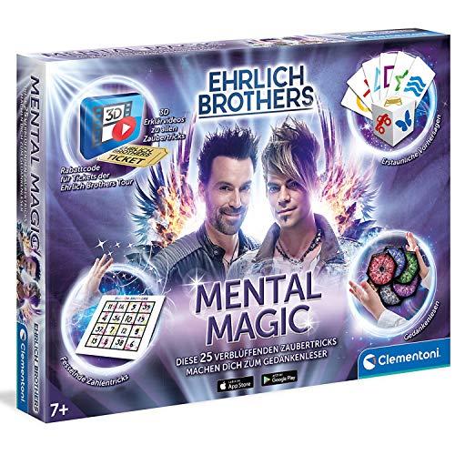 Zaubertricks für Kinder - Ehrlich Brothers Zauberkasten - Mental Magic - magische Tricks ab 7 Jahren - Zaubertrick Zauber Spielzeug Zauberschule Zauberbox Zauberkoffer Zauberei Magie - mit 3D Videos