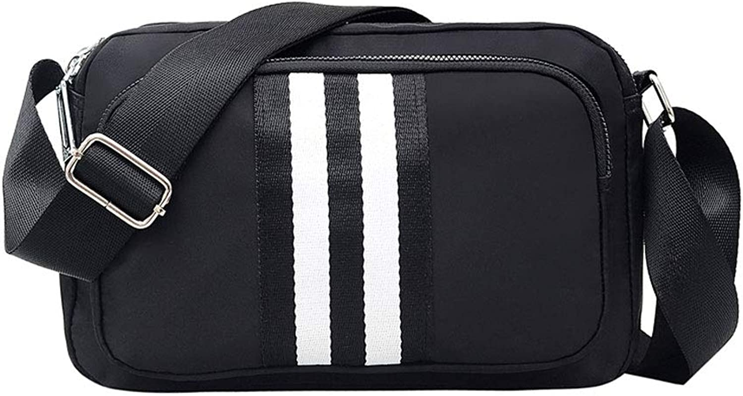 Shoulder bag Messenger bag School bag Nylon cloth Antitheft business Outdoor sports Retro Waterproof Travel Quality Large capacity Convenient Waist bag Fashion item Gift Street Work to work Dating Ja