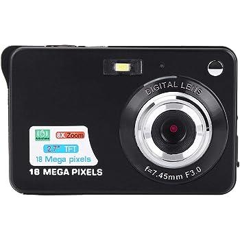 Cámara de video digital para ni?os, pantalla de 2.7 pulgadas 1080P HD 18MP Cámara de captura de punto digital Cámara de bolsillo para ni?os y reg