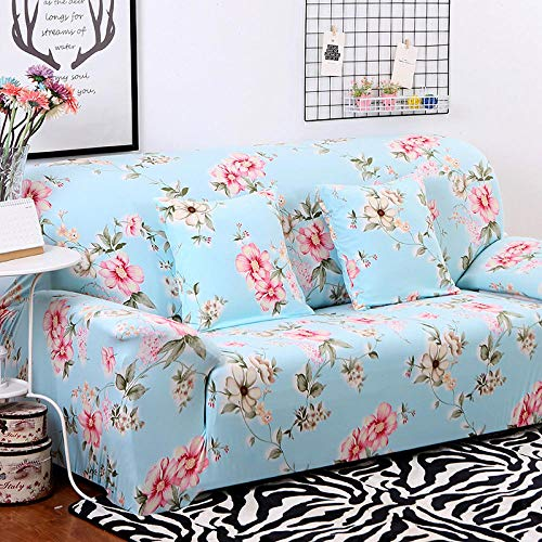 CC.Stars Sofá Proteger Cubre sofá 1 2 3 PlazasFunda de sofá elástica, Funda de sillón para Sala de Estar, Funda de Silla de sofá Funda de sofá Cubierta de Muebles-p_190-230cm