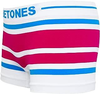 BETONES (ビトーンズ) メンズ ボクサーパンツ AKER BLUE/PINK dwearsステッカー入り ローライズ アンダーウェア 無地 ブランド 男性 下着