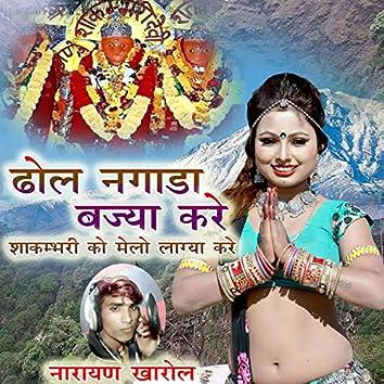 Dhol Nagada Bjya Kare Sakmbhari Ko Melo Lagya Kare