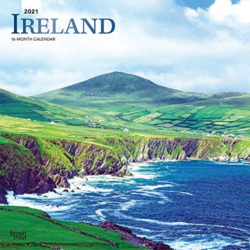 Ireland 2021 Calendar: Foil Stamped Cover
