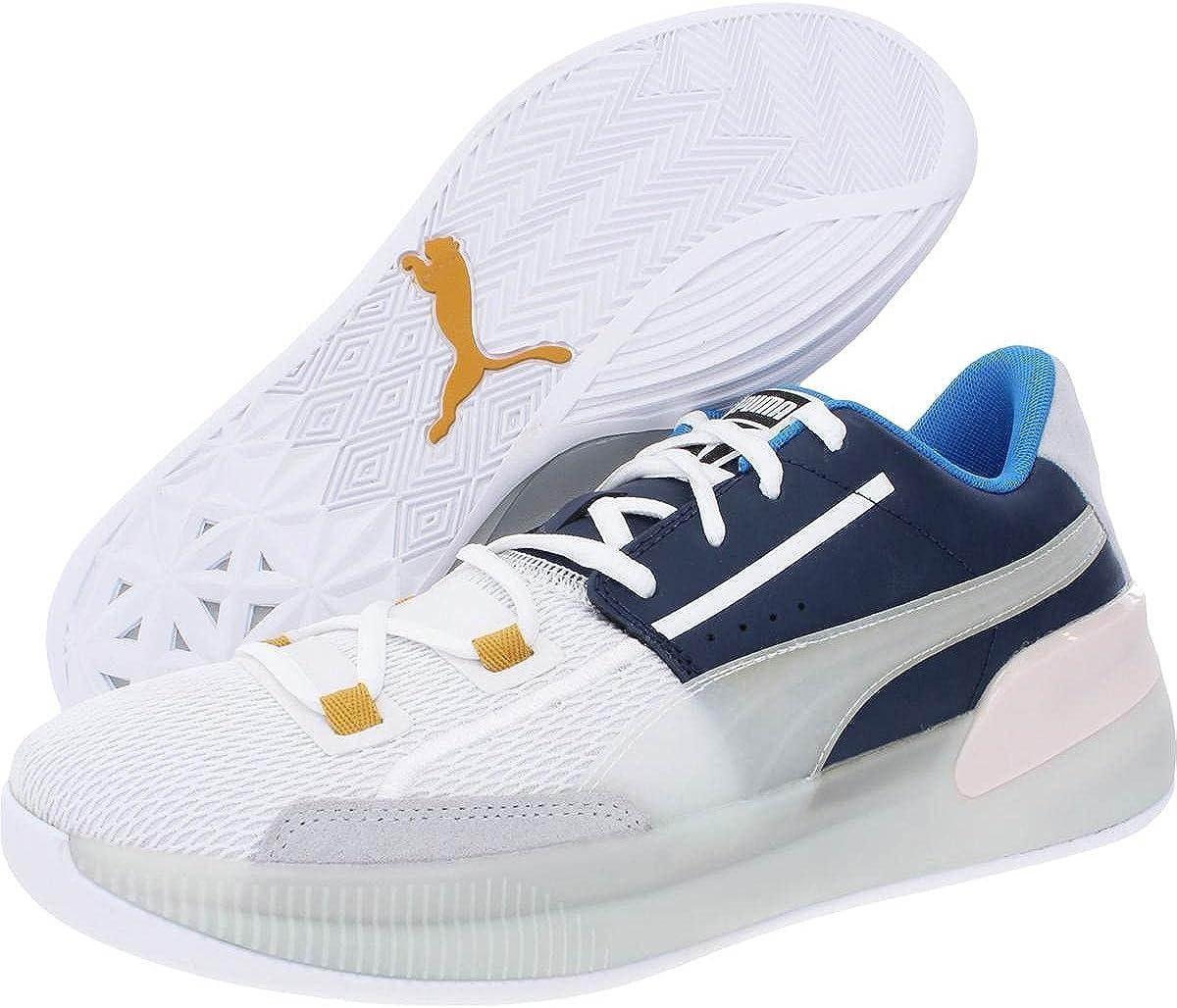 Amazon.com | PUMA Mens Clyde Hardwood Basketball Sneakers Shoes ...
