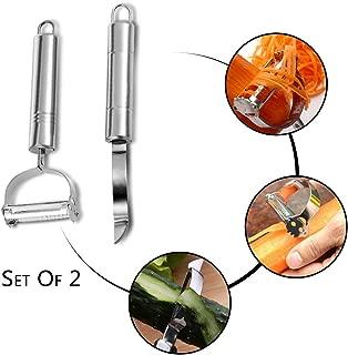 Ieasycan 1 set Fruit Vegetable Potato Peeler Stainless Steel Knife Slicer Easy Peel Blade Tool For Kitchen