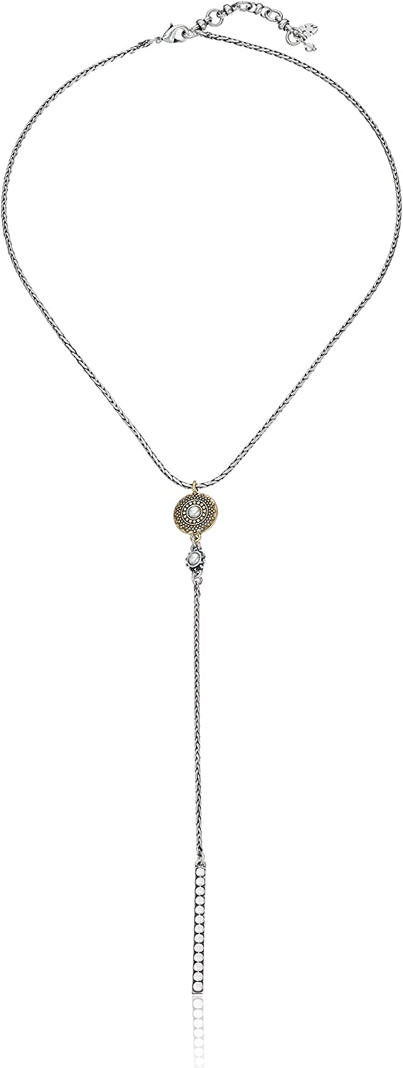 Lucky Brand Delicate Y-Shaped Necklace, 18