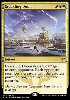 Magic The Gathering - Crackling Doom  171/269  - Khans of Tarkir