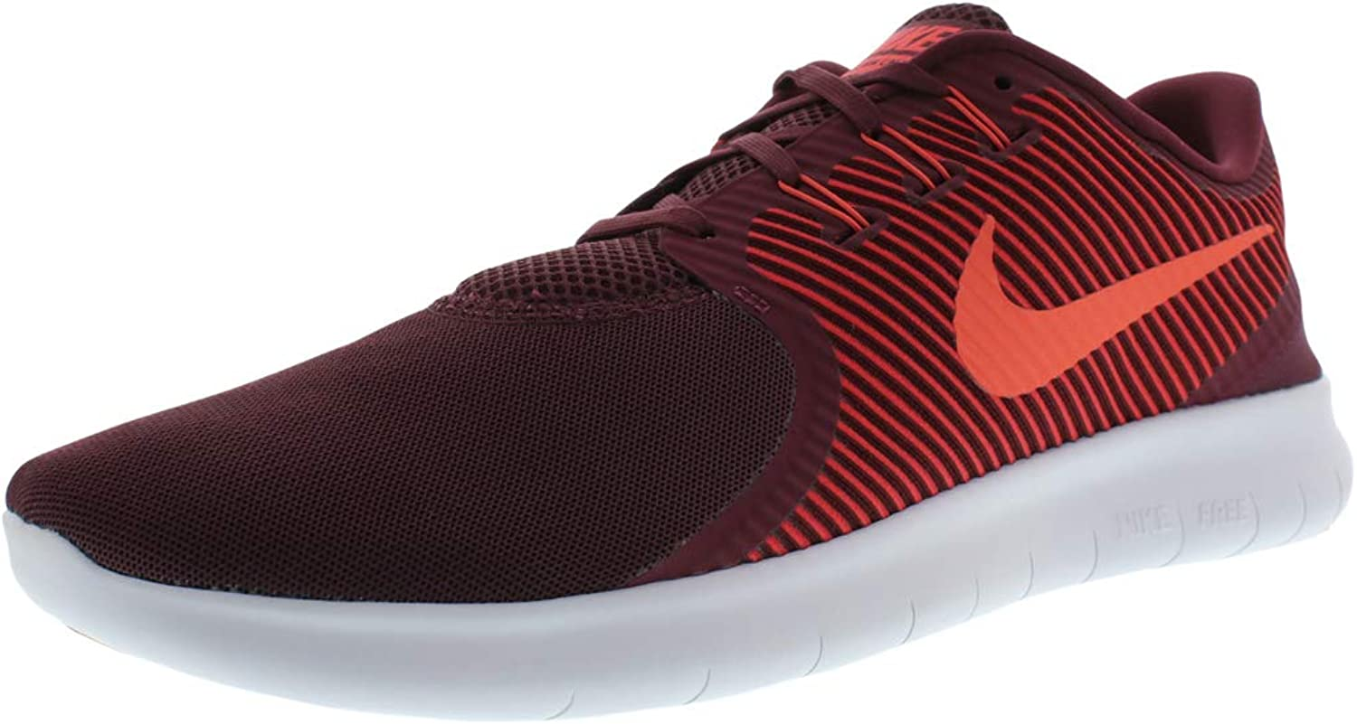 NIKE Free RN CMTR Men's Lightweight Running shoes Night Maroon Gym Red Pure Platinum Ember Glow 831510-600 13 US