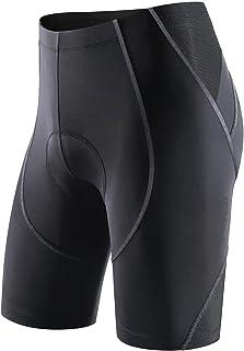 Sportneer Cycling Shorts Men Padded Bike Bicycle Cycle Shorts 4D Padded Pants Half Pants 4D Coolmax Padded, Comfort Anti-S...