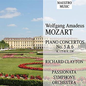 Mozart: Piano Concertos 5 & 6, K. 175 & K. 238