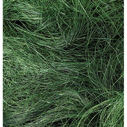efco Sisal Faser, dunkelgrün, 50g