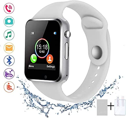 SUNETLINK Smart Watches, Bluetooth Smart Watch Anti-Lost...