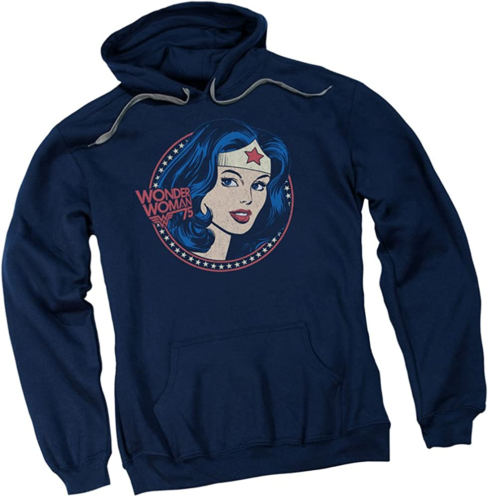 Starburst - Wonder Woman 75th Anniversary Adult Sweatshir Miami Mall Cheap mail order shopping Hoodie