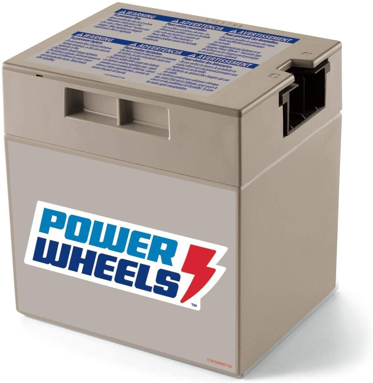 12 Volt Power Wheels Gray rechargeable Replacement Battery