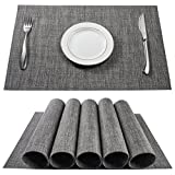 Best Placemats - BETEAM Placemats, Heat-Resistant Placemats Stain Resistant Anti-Skid Washable Review