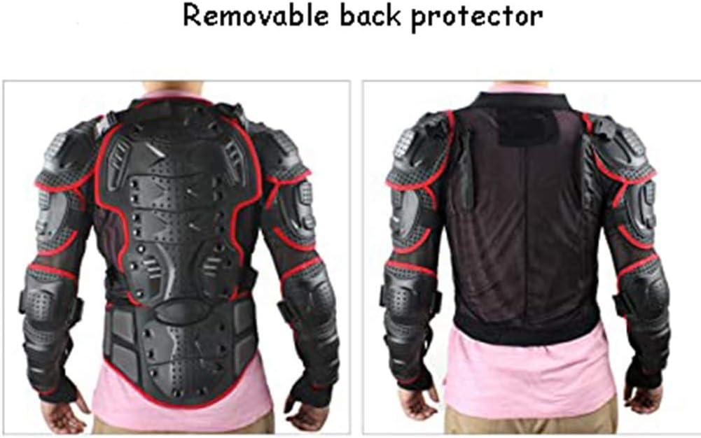 MTB Enduro Giacchino Protettivo Traspirante Motocross Giacca Manica Lunga Armatura Jacket per Scooter