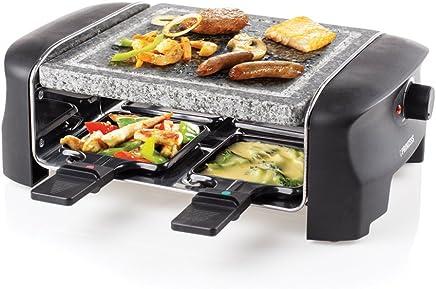 Princess 162810 Stone Grill Party – Raclette y parrilla para 4 personas