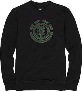 Element Men's Leopard Icon Fill Cr Sweatshirt