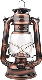 ポータブルガラスランタンハリケーンランタン 燃料 ランタン オイル 装飾 ヴィンテージランタン キャンプ 防災用 ランタン ライト 照明…