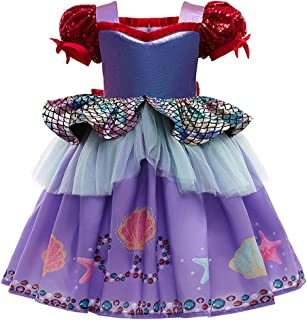 Aplusfull Girls Lace Vintage Princess Long Dress for Kids Tutu Tulle Party Bridesmaid Pageant Dresses Wedding Evening Gown
