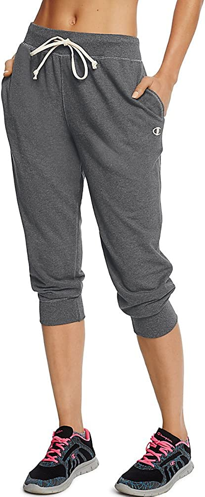 Champion Women's sale French sold out Capris Terry Jogger