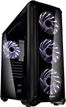 Zalman i3 Edge ATX Mid Tower Gaming PC Case with 4 x 120mm White LED Fans, Acrylic Side Window, Excellent Cooling Performa...
