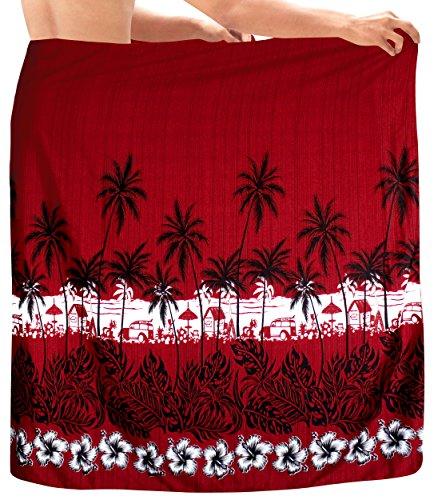 LA LEELA badkleding van de mannen badkleding Hawaïsch strand Sarong