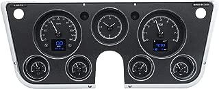 Dakota Digital 67-72 Chevy Pickup Customizable Gauge System Black Alloy HDX-67C-PU-K