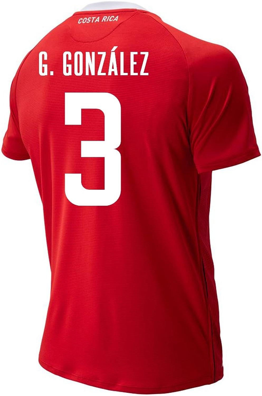 588b698a1 Balance G. Gonzalez 3 Costa Rica Home Men's Jersey FIFA World Cup Russia  2018 Soccer New nywmlr5878-Sporting goods