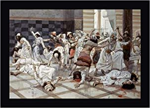 Saul Commands Doeg to Slay The Priests by James Tissot 17