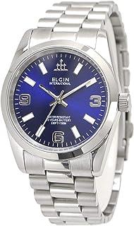 【国内正規品】ELGIN エルジン 腕時計 メンズ 10年電池搭載 ブルー文字盤 FK1421S-BL