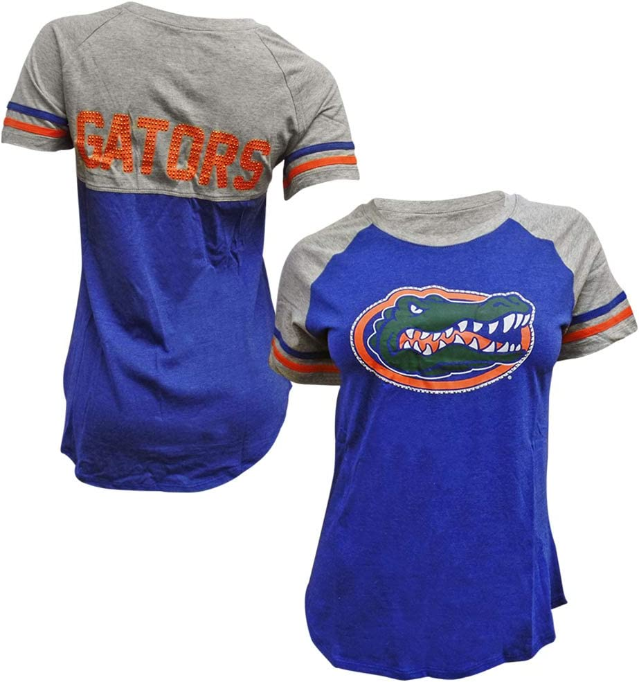 Colosseum Florida Gators Women's Scoop-Neck Southbend T-Shirt Choice New Shipping Free